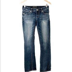 Express Bootcut Stella Boot Low Rise Jeans